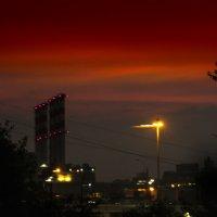 Грозовой закат :: Сергей Куликов