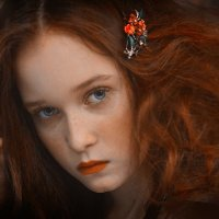 Red Hair Girl :: Elena Fokina
