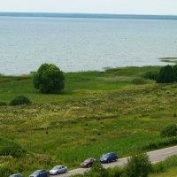 Плещеево  озеро...   Вид с  макушки Ярилиной  горы... :: Galina Leskova
