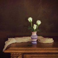 Белые розы :: Надежда