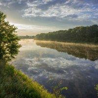 Ранним июльским утром на Клязьме-реке. :: Igor Andreev