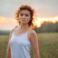Портрет на закате :: Сергей Суховей