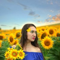 Солнечный цветок! :: Евгений Ромащенко