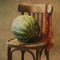 Про арбуз на стуле... :: Liliya