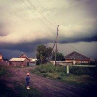 наедине с непогодой :: Евгения Шикалова