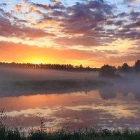 Утро туманное :: Александр Лукин