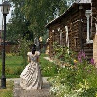 Иногда в на территории Музея-усадьбы Чайковских удаётся увидеть такое. :: Исаков Александр