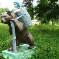 Маша и Медведь. :: Александр Атаулин