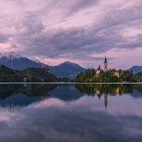 оз. Блед, Словения :: Тиша