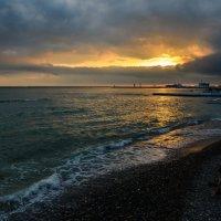 закат у моря :: Олеся Семенова