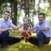три поколения :: Мила Гусева