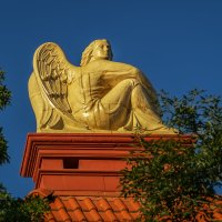 Ангел на крыше :: Андрей Дворников