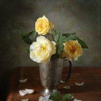 Желтые розы :: Татьяна Карачкова