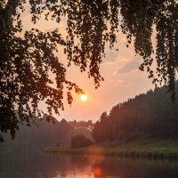 Закат над Исетью :: Дмитрий Костоусов