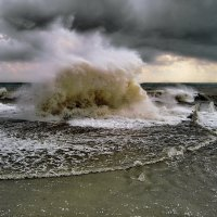 шторм  7 балов :: valeriy g_g