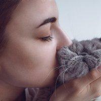 Girl and kitten :: Илья В.