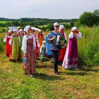 На празнике сенокоса в Мураново. :: Ирина Нафаня