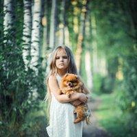 Девочка с собачкой :: Женя Кадочников