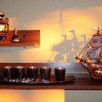 Парусник, вазы и свечи :: Nina Yudicheva