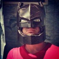 создание шлема по фильму Batman v Superman: Dawn of Justice :: Серёга Марков