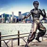 Брюс Ли.Аллея славы Гонконг. :: Евгений Подложнюк