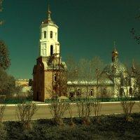 Церковь Сергия Радонежского в Бородино. :: Gimp Fanat Евгений Щербаков
