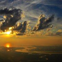 закат на Северной Двине :: vg154