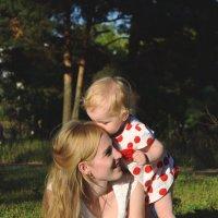 Мама с дочкой.. :: Елена М