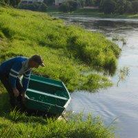 Вечером на реке..... :: Елена Фролкова