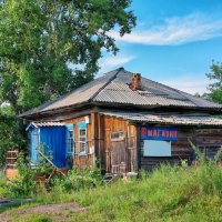 Сибирская глубинка. Магазин в деревне :: Дмитрий Конев