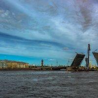 Из истории Дворцового моста :: Valeriy Piterskiy