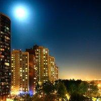 Ночной город за окном :: Андрей Мелехов