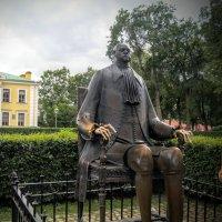 Петр первый - скульптура  М.Шемякина. :: Larisa Ereshchenko