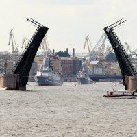 День ВМФ Дворцовый мост :: tipchik