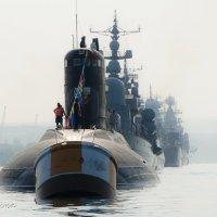 День ВМФ, утро :: Анна Выскуб