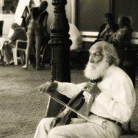 Музыкант и люди (обработка Alex Sash) :: Yulia Deimos
