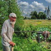 Пчеловод Владимир Степанович из села Санино :: Валерий Толмачев