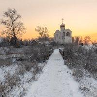 Морозный рассвет :: Владимир Колесников