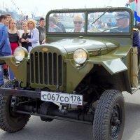 """ГАЗ 67 по прозвищу """"Иван-Виллис"""". Выпускался с сентября 1943 года. :: Валерий Новиков"""