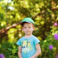 солнечный мальчик :: Ирина Dunaeva