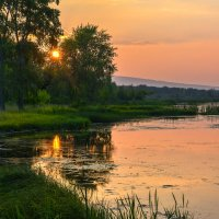Вечер на озере :: vladimir Bormotov