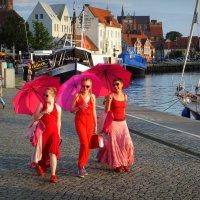 Девушки в красном... :: Владимир Секерко