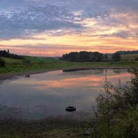 утро на обмелевшем озере :: юрий иванов