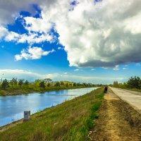 Канал и дорога :: Дима Пискунов