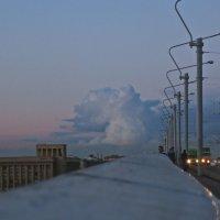 серебристое облако :: Елена