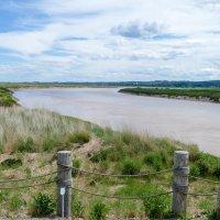 Одна из рек Новой Шотландии (Канада), течёт то вперед, то назад... :: Юрий Поляков