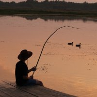 """""""Рыбалка на рассвете"""" :: Андрей Костров"""