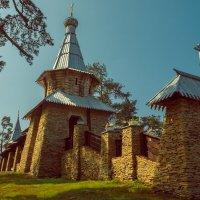 Часовня в честь Всех Валаамских святых :: Евгений Астахов