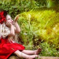 маленькая волшебница :: Эрика Гомер