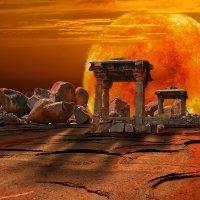 Индия. Каменные беседки Хампи :: Андрей Левин